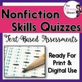 Nonfiction Skills Quizzes