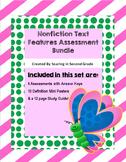 Nonfiction Text Features Assessments Bundle