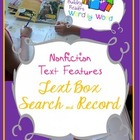Nonfiction Text Features Informational Text Box Search