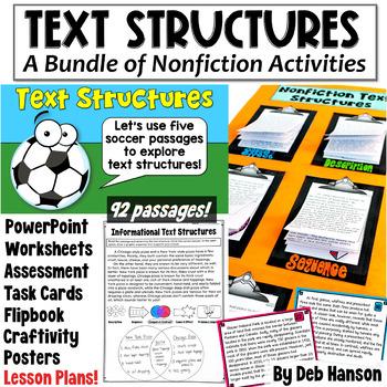 Informational Text Structures MEGA-BUNDLE (99 nonfiction passages!)