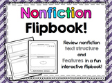 Nonfiction text structures and features - Flipbook