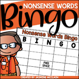 Nonsense Words Bingo-Nonsense Words Practice