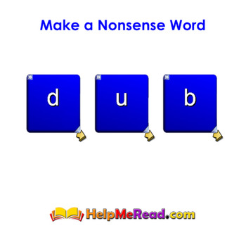 Nonsense Word Generator Smartboard