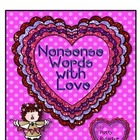Nonsense Words With Love - Freebie