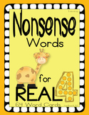 Nonsense Words 4