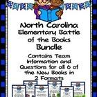 North Carolina  (NC)  Elementary Battle of the Books 2015-