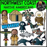 North West Coast Native Americans Clip Art