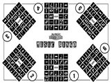 """Notation Bingo ( 24""""x36"""" ) for 6 players"""