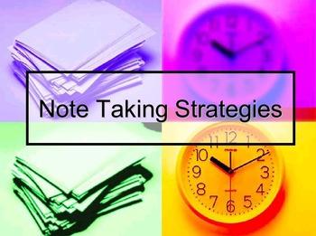 Note-Taking Strategies (Powerpoint)