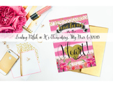 Notecards for Teachers {Printable}: Work of Heart