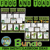Frog and Toad Mega Pack - Noun or Verb - Adjective or Adverb