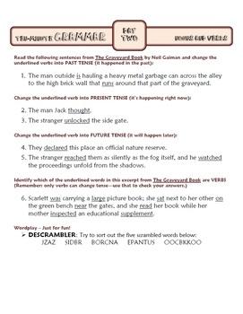 Nouns and Verbs: Ten-Minute Grammar Unit #3