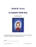 Novel Ideas: Junie B. Jones Is Captain Field Day