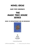 Novel Ideas: Magic Tree House #22: Revolutionary War on Wednesday