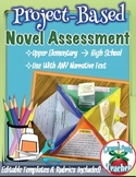 Novel Project Based Assessment for ANY book! {Common Core