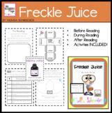 Novel Study: Freckle Juice