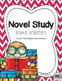 Novel Study Menu and Graphic Organizers