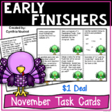 November Early Finishers {$1 Deal}