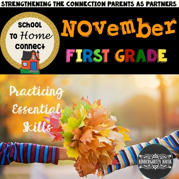 November NO PREP Homework Packet -1st Grade: All About Bears