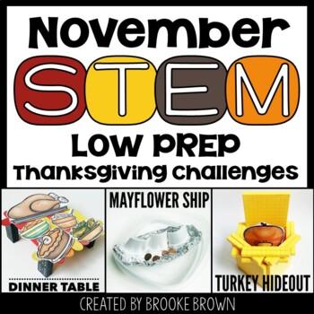November STEM! {3 Thanksgiving Themed Challenges}