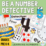 Number Detectives - Numbers to 10 Bulletin Board Set