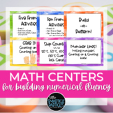 Number Fluency Skills Centers