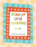 Number Grid Counting 0-50