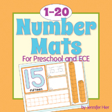 Number Mats 1-20: Early Math Concepts for Preschool and ECE