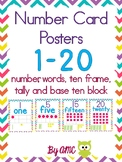 Number Posters & Class Book Template