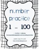 Number Practice 1-100