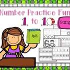 Number Practice Fun 1-10 SAMPLER