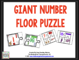 GIANT Number Puzzle And Counting Puzzles!  A Numbers And C