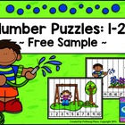 Number Puzzles: 1-20 {Free Sample Set}