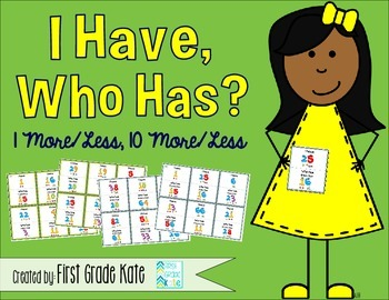 I Have, Who Has - More & Less