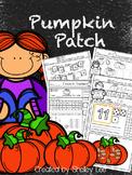 Number Sense:Pumpkin Patch Math