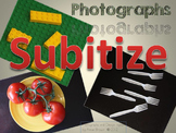Number Sense  - Subitize with Photographs - Power Point