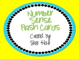 Number Sense - Work Station - Flash - Subitize - Common Core Math
