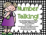 Number Talking Teacher Resources!