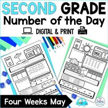 Number of the Day {May} Second Grade Place Value