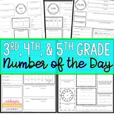 Number of the Day for 3rd and 4th Grade Common Core Standards