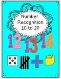 Numbers - Teen Number Recognition + 20