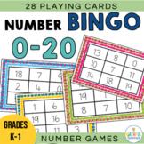 Numbers to 20 Bingo
