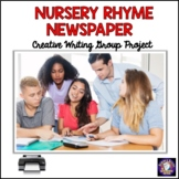 Nursery Rhyme Newspaper Instructional Activity Pac