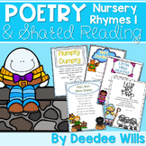 Nursery Rhyme Poetry Station and Shared Reading CC aligned