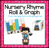 Nursery Rhyme Roll & Graph Activity