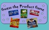 Nutrition Media Literacy: Fun PwrPt. Quiz-Recognize Produc