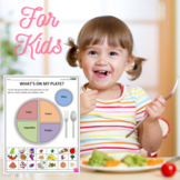 Nutritional Health Worksheet - What's On My Plate?