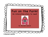 ON THE FARM!!! Farm Animals Emergent Reader