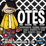 OTES (Ohio's Teacher Evaluation System) Organizational Edi
