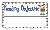 Objectives Posters